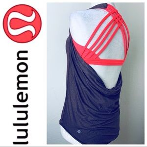 LULULEMON Athletica Caged Straps TANK Exercise TOP